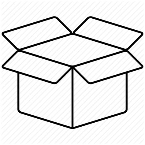 Cardboard Box Drawing | Free download on ClipArtMag