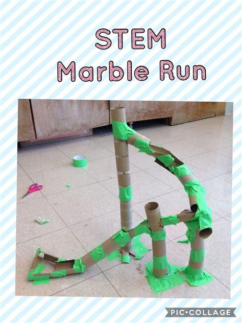 Cardboard Tube Marble Run STEM | Kindergarten stem, Stem ...