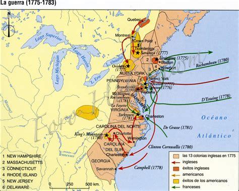 Carla Sociales: Mapa proceso de independencia americana