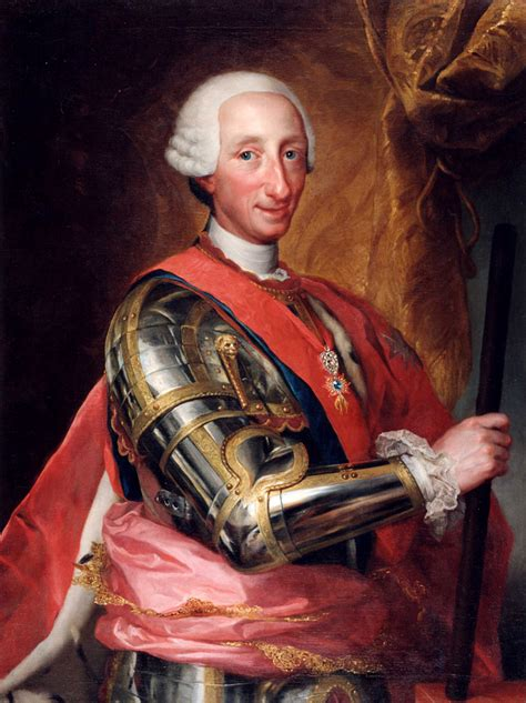 Carlos III, Rey de España   Wikimedia Commons