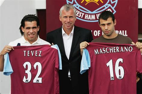Carlos Tevez and Javier Mascherano: From Upton Park to the ...