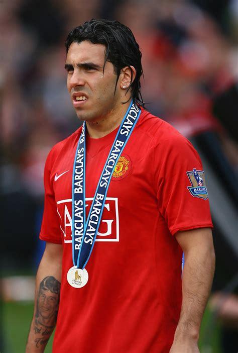 Carlos Tevez in Manchester United v Arsenal   Premier ...