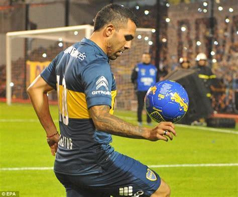 Carlos Tevez scores for Boca Juniors but cannot prevent ...