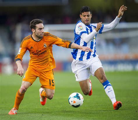 Carlos Vela in Real Sociedad de Futbol v Real Madrid CF ...