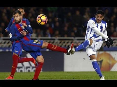 Carlos Vela Vs FC Barcelona 11/27/16 El BomBarDero  Resume ...