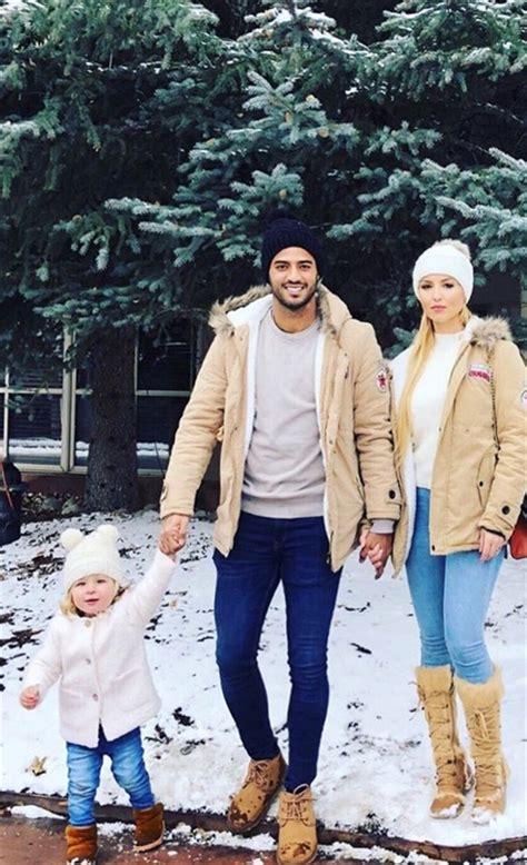 Carlos Vela y su esposa disfrutan las nevadas de USA ...