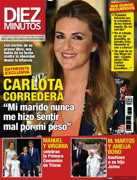 Carlota Corredera se sincera con la prensa – iRevista.es