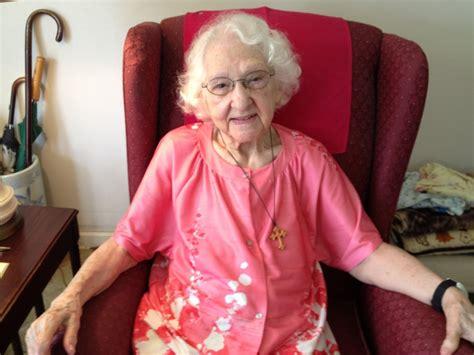 Carly Q. Romalino: Deptford centenarian Dorothy Riley ...