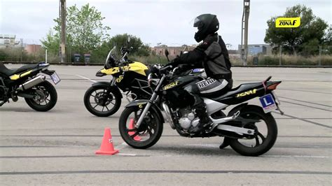 CARNET A2: Examen práctico carnet de moto   YouTube