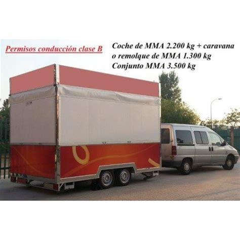 carnet B   Remolques Tarragona   Remolques venta ambulante