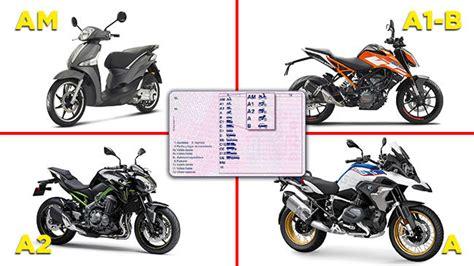 Carnet de moto A1, A2 y A ¿qué motos puedes conducir con ...