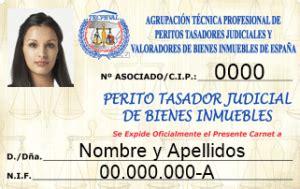 carnet profesional perito judicial anverso • ATP Group