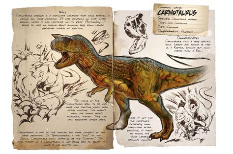 Carnotaurus   Official ARK: Survival Evolved Wiki