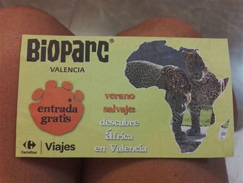 Carrefour regala entradas para Bioparc | Ahorradoras.com