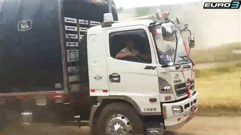 Carrera de camiones Ecuador_HINO GH EITHAN   YouTube