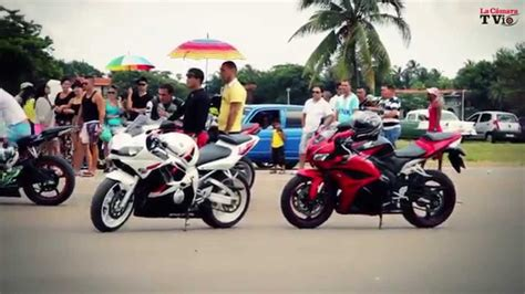 Carreras De Motos en Varadero Cuba Julio 2014   YouTube