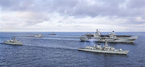 Carrier Strike Exercise ends ahead of HMS Queen Elizabeth ...