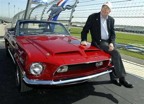 Carroll Shelby, driver and designer of high speed sports ...