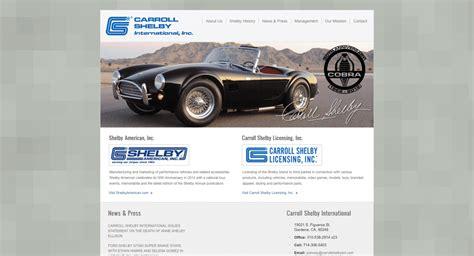 Carroll Shelby International | Web Development & Project ...