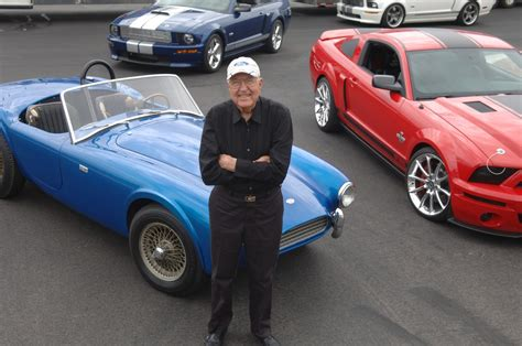 Carroll Shelby s first Shelby Cobra   VIDEO     way2speed