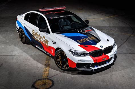Carros vestidos de carreras: BMW M5 Safety Car para MotoGP ...