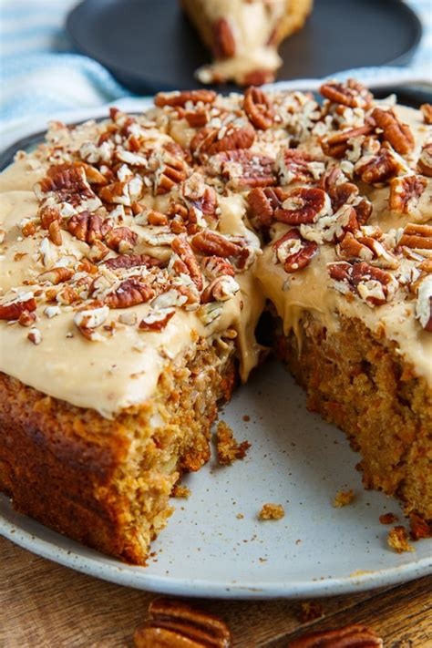 Carrot Cake with Dulce de Leche Cream Cheese Frosting ...