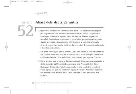 Carta dels Drets Fonamentals de la Unió Europea