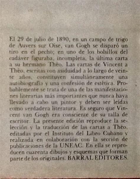 Cartas A Theo Vincent Van Gogh   $ 400.00 en Mercado Libre