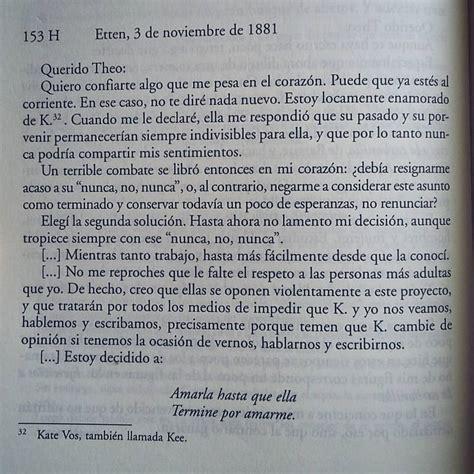 Cartas a Theo, Vincent Van Gogh   Denise Márquez