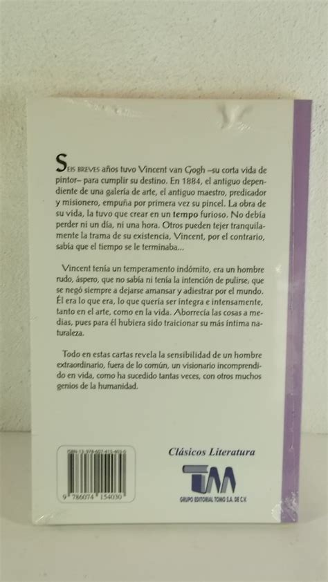 Cartas A Theo Vincent Van Gogh Libro   $ 155.00 en Mercado ...