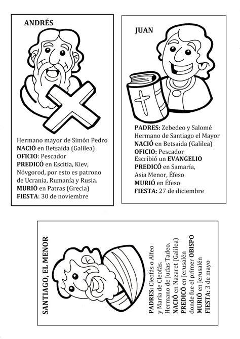 Cartas biográficas de los Doce Apóstoles | Catequesis ...