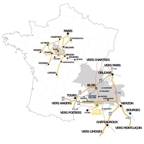 Carte de France   Zoo de Beauval » Vacances   Arts  Guides ...