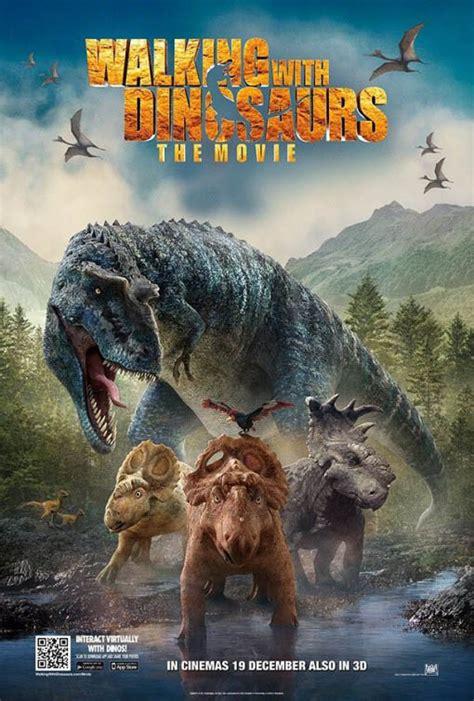 Cartel Caminando entre dinosaurios 3D   CineDor