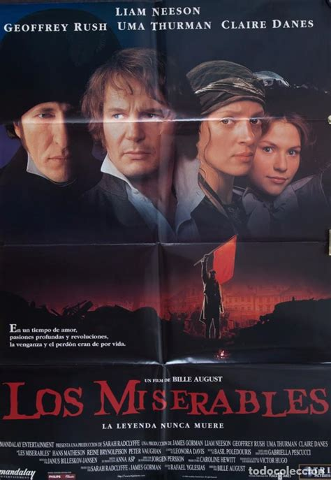 cartel de cine los miserables 1998   Comprar Carteles y ...