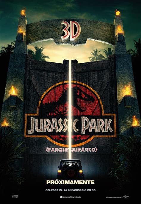 Cartel de Jurassic Park  Parque Jurásico    Foto 26 sobre ...