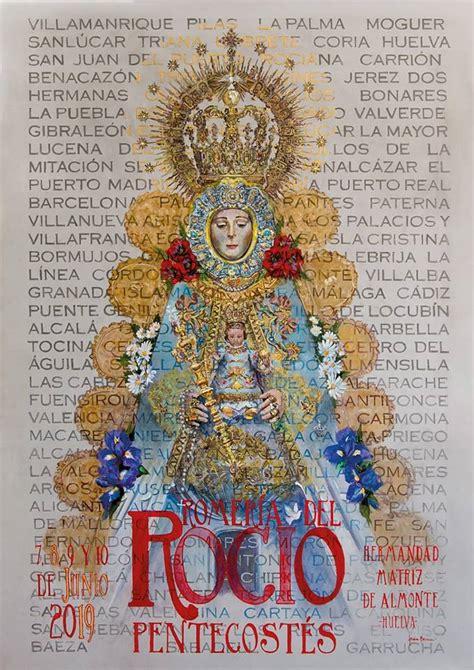 Cartel de la Romería del Rocío 2019 de la Hermandad Matriz ...
