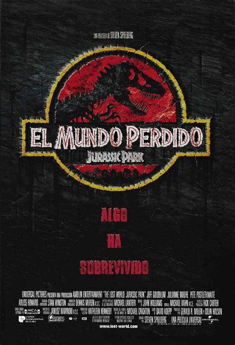 Cartel Español de El mundo perdido: Jurassic Park   Parque ...
