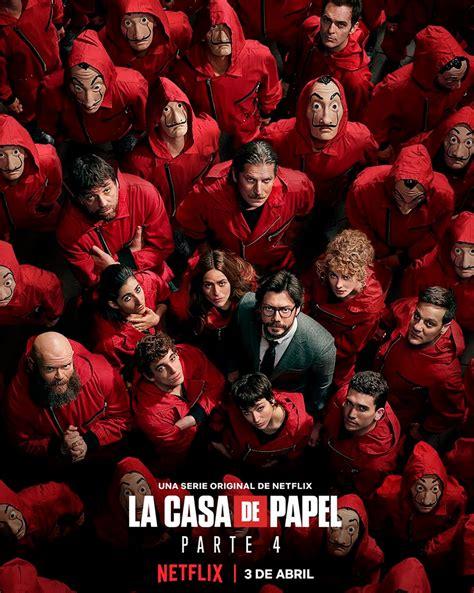 Cartel La Casa de Papel   Temporada 4   Poster 1 sobre un ...