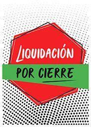 Cartel liquidación por cierre #Ofertas #Comercios #Pymes ...
