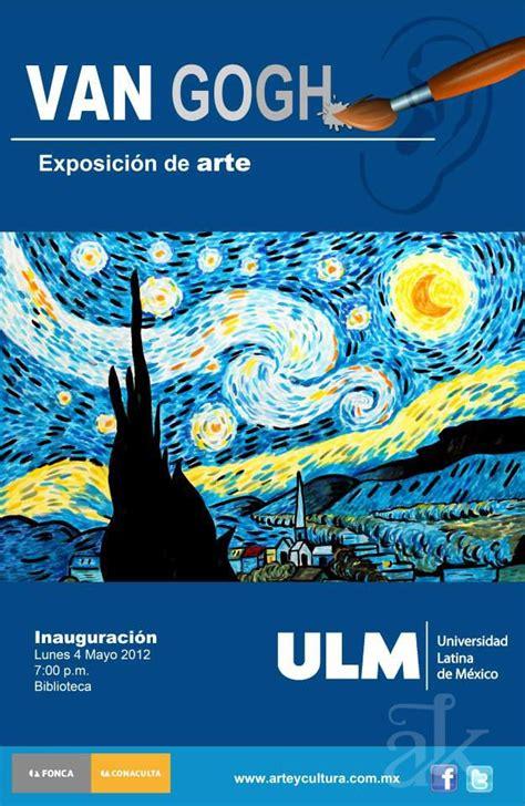 Cartel para exposición de arte Van Gogh  | Exposicion de ...