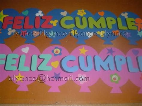 carteles de feliz cumpleaños originales en cartulina ...