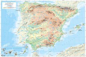 Cartografía general de España