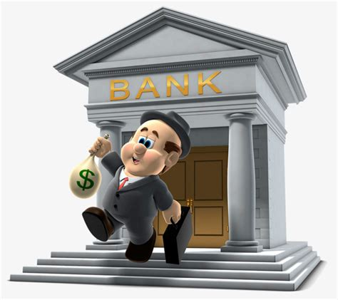 Cartoon Business Bank Illustrations, Cartoon Clipart ...
