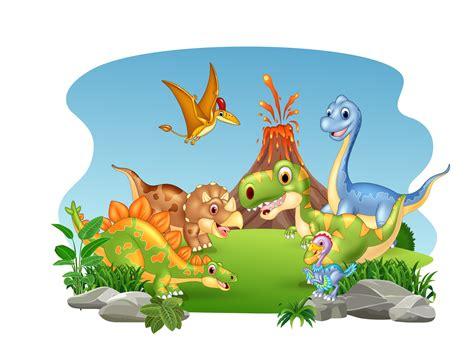 Cartoon dinosaur collection by Tigatelu on Dribbble