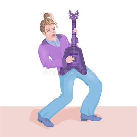 Cartoon Disco Dancing Man stock illustration. Illustration ...