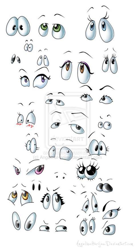 Cartoon eyes mix by Angi Shy on deviantART | Cartoon eyes ...