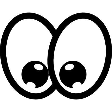 Cartoon happy eyes   Free gestures icons