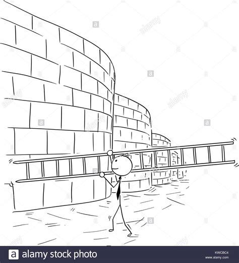 Cartoon stick man Dibujo Ilustración conceptual de hombre ...