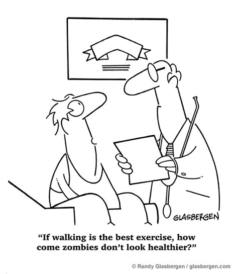 Cartoons About Cardio and Aerobic Exercise   Randy ...
