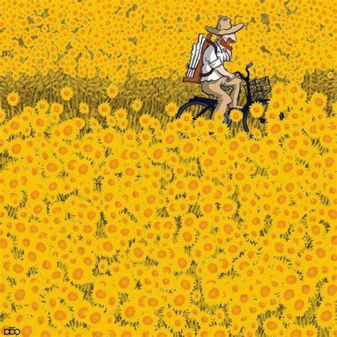 Cartunista ilustra a vida de Vincent van Gogh em imagens ...